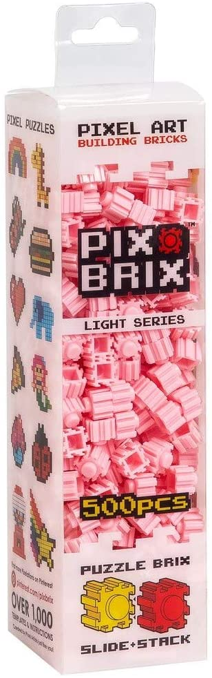 PIX BRIX 500PC LIGHT PINK