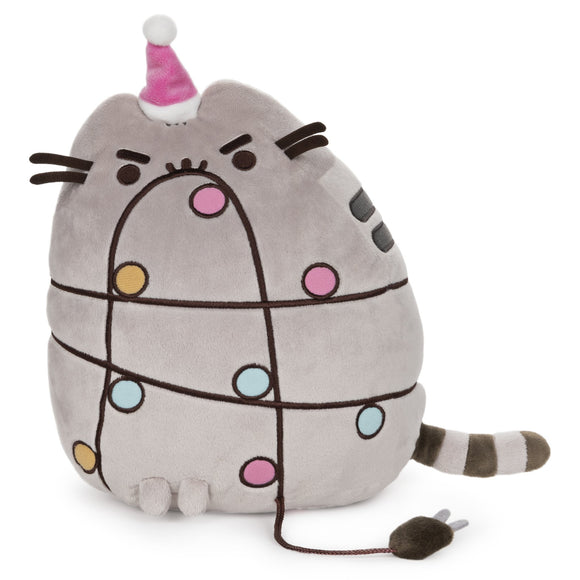 GUND PUSHEEN CHRISTMAS LIGHTS