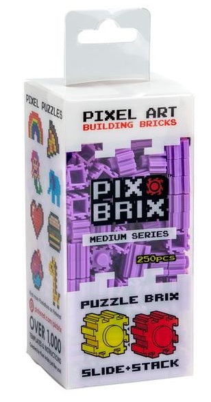 PIX BRIX 250PC MEDIUM PURPLE