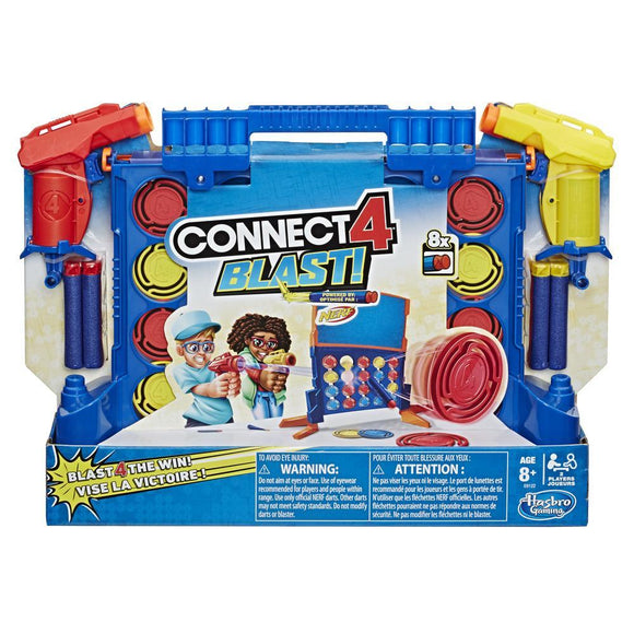 HSB GM CONNECT FOUR 4 BLAST NERF