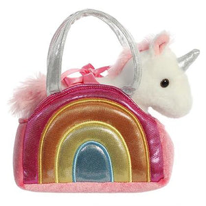 AUR PET PURSE OVER THE RAINBOW UNICORN