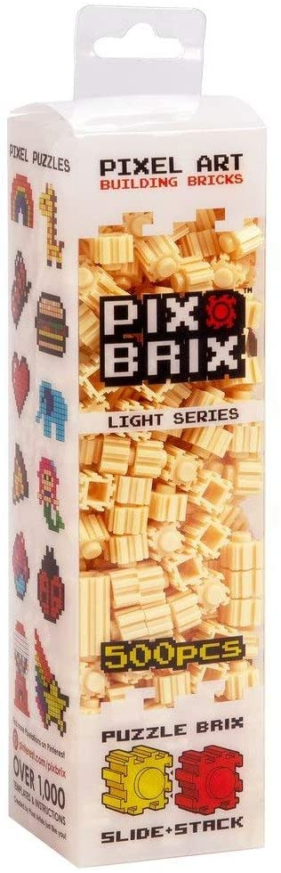 PIX BRIX 500PC LIGHT BEIGE