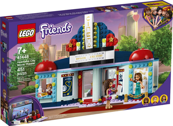 LEGO FRIENDS HEARTLAKE MOVIE THEATRE