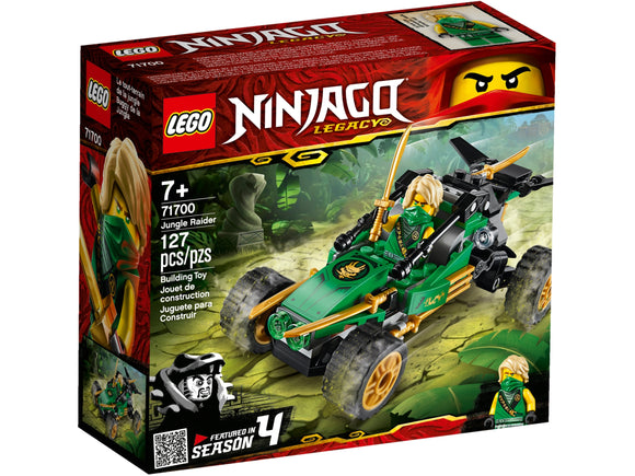 LEGO NINJAGO JUNGLE RAIDER