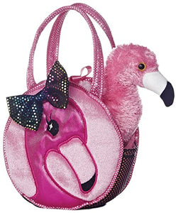 AUR PET PURSE FLAMINGO FABULOUS PINK