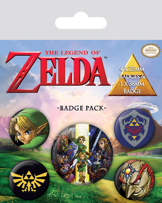 OT BADGE PACK ZELDA (LEGEND OF)