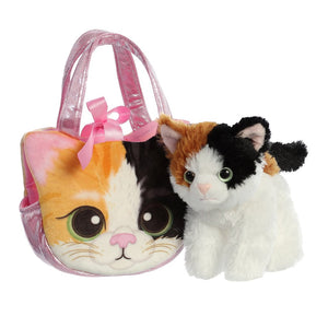 AUR PET PURSE CAT CALICO ESMERALDA