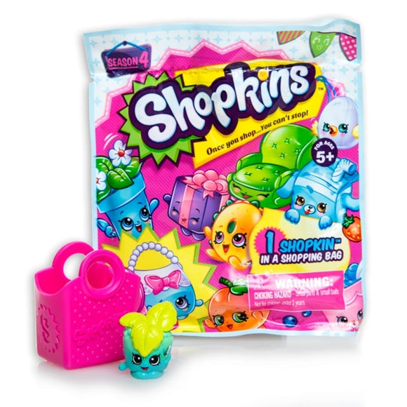 SHOPKINS S4 FOIL BLIND BAG