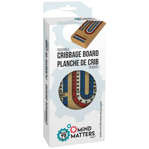 GM CRIBBAGE 3 LANE FOLDING PLASTIC