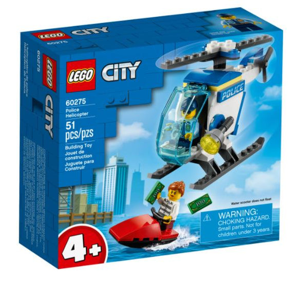 LEGO 4+ CITY POLICE HELICOPTER