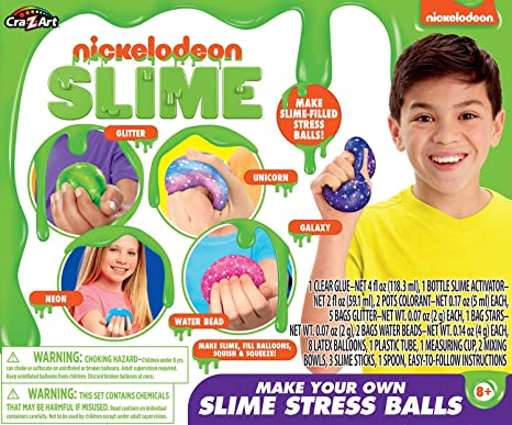 NICKELODEON STRESS BALL MYO SLIME KIT