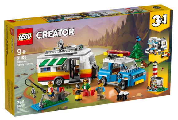 LEGO CREATOR CARAVAN FAMILY HOLIDAY