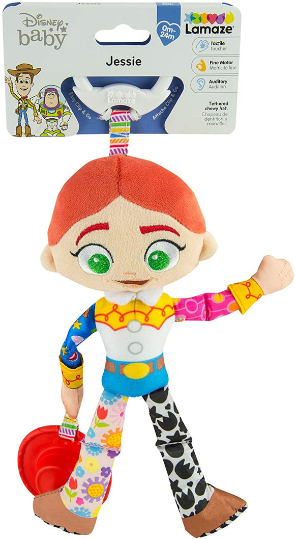 LAMAZE CLIP AND GO TOY STORY JESSIE