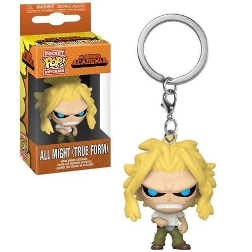 POP KEYCHAIN MHA ALL MIGHT (TRUE FORM)