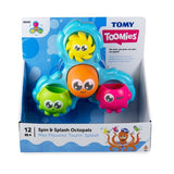TOMY BATH SPIN & SPLASH OCTOPALS