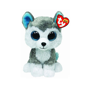 TY BUDDIE BOO XL SLUSH HUSKY DOG