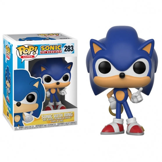 POP! GAMES SONIC WITH RING