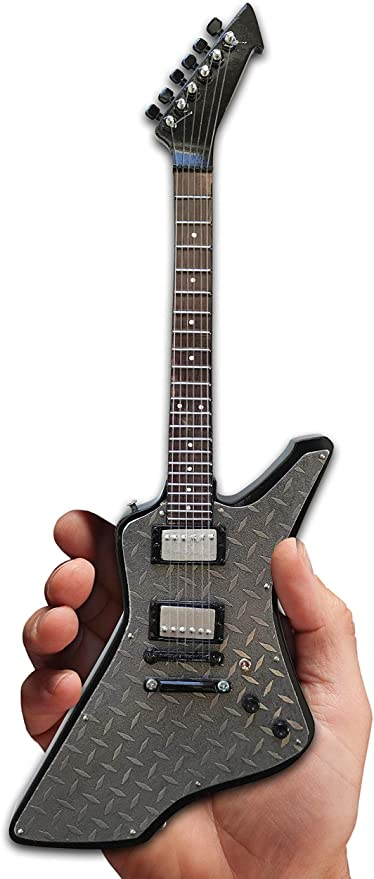 AH GUITAR METALLICA JAMES HETFIELD DIAMOND PLATE EXPLORER