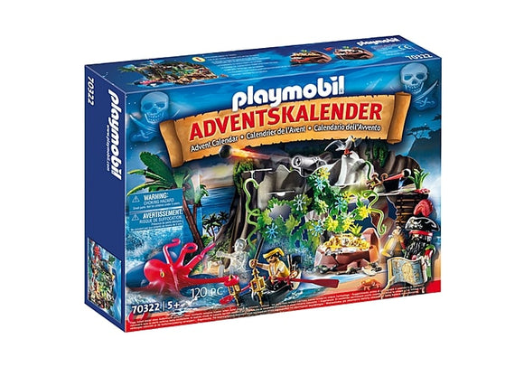 PLAYMB ADVENT CALENDAR PIRATE COVE TREASURE HUNT