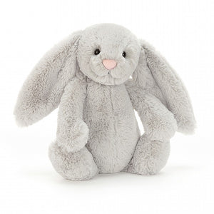 JC BASHFUL BUNNY GREY SMALL 7""