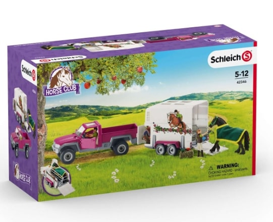 SCHLEICH HORSE CLUB PICKUP AND TRAILER