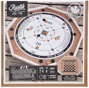 GM DELUXE CROKINOLE 2 IN 1