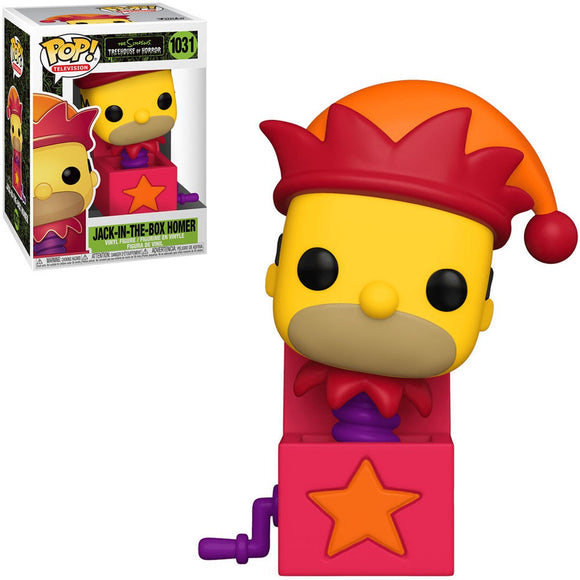 POP! ANIMATION SIMPSONS HOMER JACK IN THE BOX