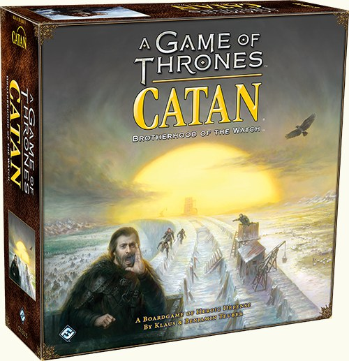 GM CATAN GAME OF THRONES:BROTHERHOOD OF THE WATCH