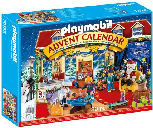 PLAYMB ADVENT CALENDAR CHRISTMAS TOY STORE