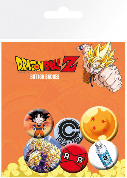 OT BADGE PACK DBZ DRAGONBALL Z
