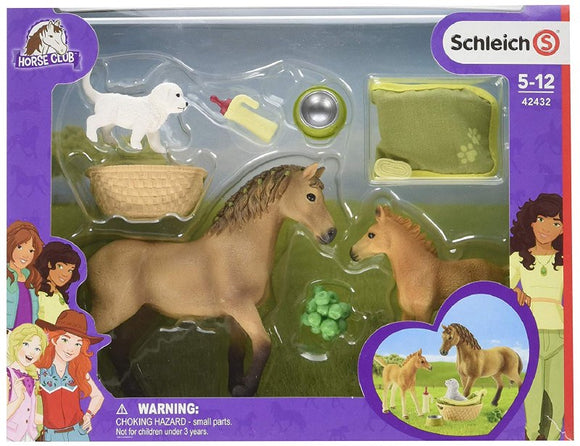 SCHLEICH HORSE CLUB BABY ANIMAL CARE