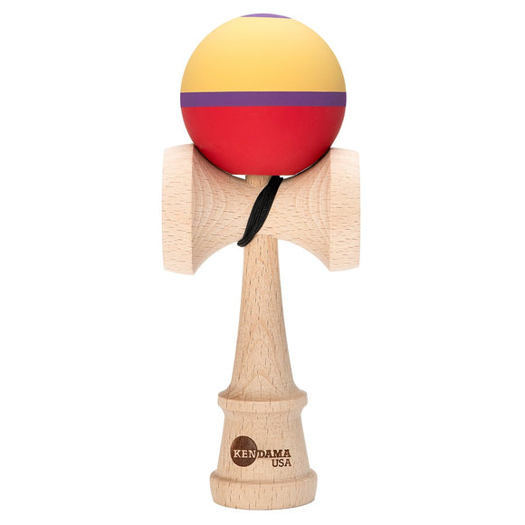 KENDAMA USA KAIZEN SHIFT HALO BERRY BROWN PURPLE RED