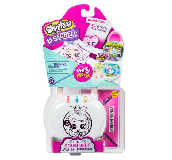 SHOPKINS LIL SECRET MINI S2 PLAYSET