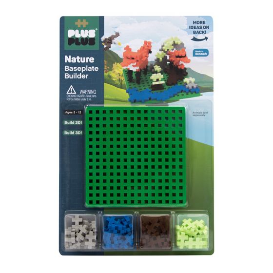 PLUS-PLUS NATURE BUILDER WITH BASEPLATE