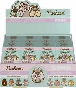 GUND PUSHEEN BLIND BOX SERIES 13 WARM AND COZY