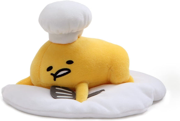 GUND GUDETAMA LAYING DOWN WITH CHEFS HAT
