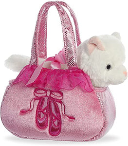 AUR PET PURSE CAT BALLET PINK