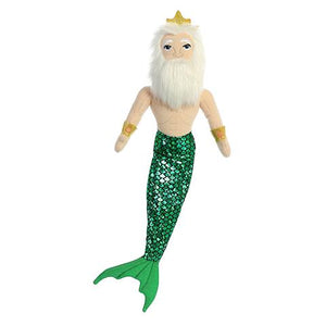 "AUR SEA SPARKLES TRITON OF THE SEA 18"" MERMAID"