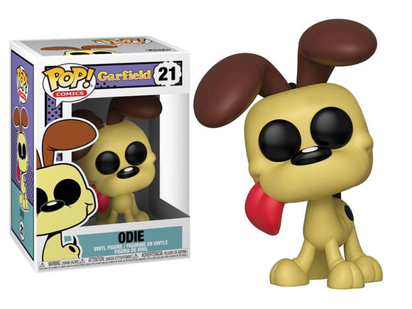 POP! COMICS GARFIELD ODIE