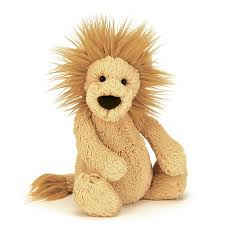 JC BASHFUL LION MEDIUM 12""