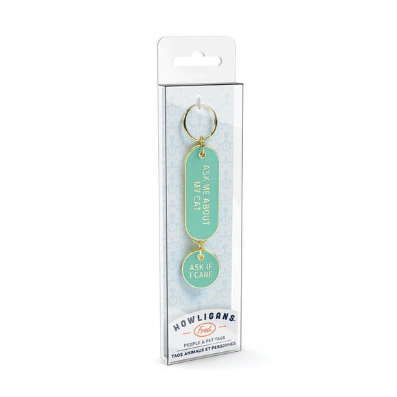 FRED HOWLIGANS KEY CHAIN ASK CAT