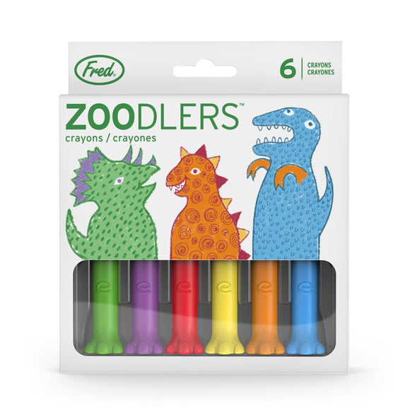 X FRED CRAYONS ZOODLERS DINO