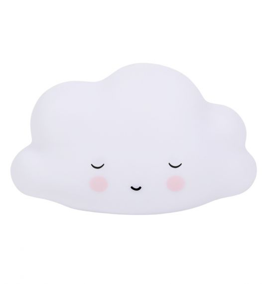 LITTLE LOVELY LIGHT MINI SLEEPING CLOUD WHITE