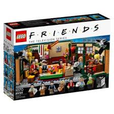 LEGO IDEAS FRIENDS CENTRAL PERK COFFEE SHOP