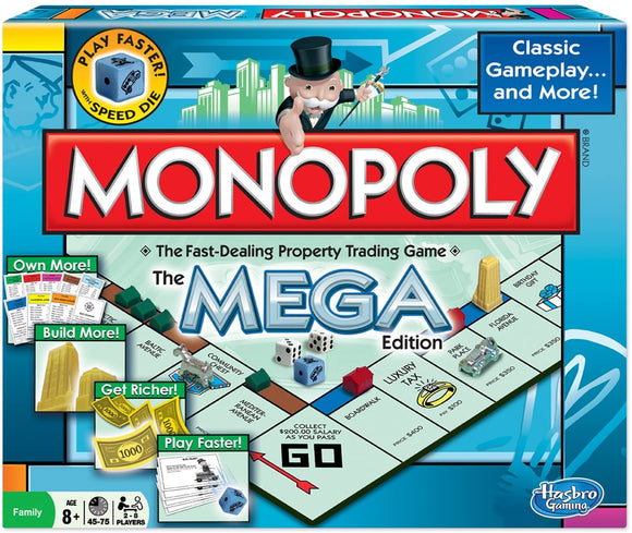 GM MONOPOLY MEGA EDITION
