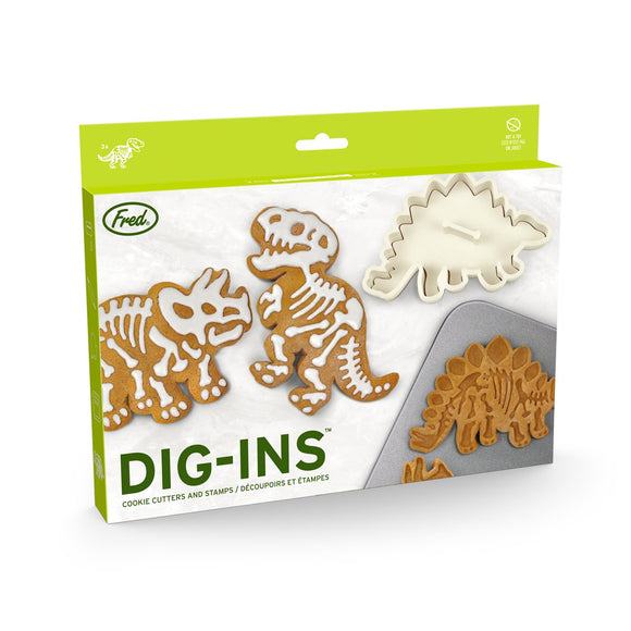 FRED COOKIE CUTTERS DIG INS DINO