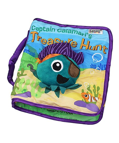 LAMAZE SOFT BOOK TREASURE HUNT