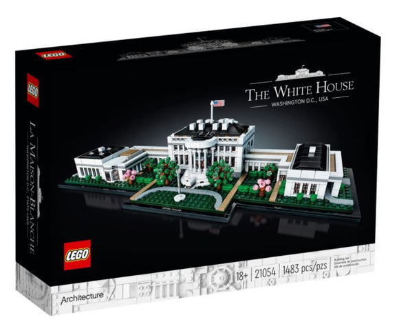LEGO ARCHITECTURE THE WHITE HOUSE