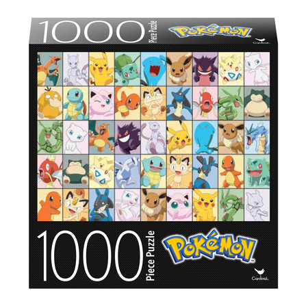 PZ 1000 POKEMON ASSORTED CHARACTERS