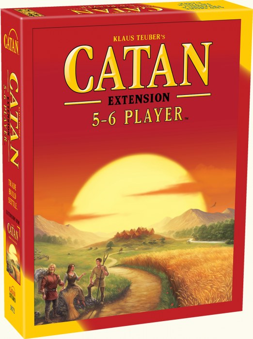 GM CATAN 5TH EDITION 5-6 PLAYER EXPANSION